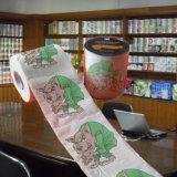Surtidor impreso rodillo de la venta al por mayor del papel higiénico del retrete