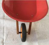Hölzernes Griff-Rad-Eber-Spielzeug für Schubkarre des Kind-Kindes