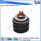 Cavo elettrico isolato XLPE di alta tensione