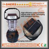 Un indicatore luminoso di campeggio solare dei 36 LED con la dinamo che a gomito, presa del USB (SH-1990)