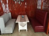 レストランのソファーおよび表またはレストランの家具セットかホテルの家具または食堂の家具セットまたは食事はセットする(NCHST-004)