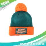 صنع وفقا لطلب الزّبون أكريليكيّ غلّل شتاء يحبك قبعة مع كرة أعلى (089)