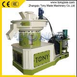 Tony CE approuvé 1-1.5T/H Ring Die presse à granulés de paille(TYJ560-II)