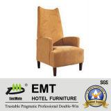 Chaise confortable de loisirs d'hôtel d'accoudoir (EMT-1078)