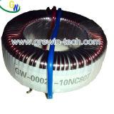 円形の変流器(GWD-00021-4)、円環形状のコアミニチュアの変圧器
