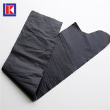 LDPE/HDPEのロールのカスタム黒いねじれタイのごみ袋
