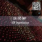 LED-scherm in gordijn / LED in nieuw ontwerp