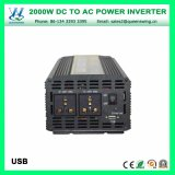 Os auto inversores portáteis da potência 2000W com CE RoHS aprovaram (QW-M2000)