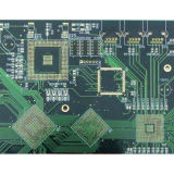 2 lagen van PCB Immersion Gold Circuit Board met Fr-4 1.0mm