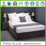 800TC 100% coton blanc linge de lit de la fabrication de l'hôtel