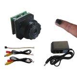 1g Poids 520tvl 0.008lux HD Ultra Mini caméra CMOS