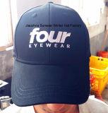 Gorra de béisbol bordada alta calidad popular europea del casquillo del casquillo del deporte