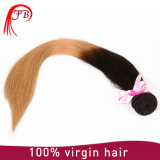 De dos colores de tono de Ombre pelo humano brasileño derecho