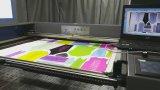Machine de découpage estampée de laser de tissus avec le bord suivant le système de CCD