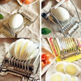 1PC los utensilios de corte de acero inoxidable huevo huevo fresas útiles de cocina tijera de huevo huevo Desayuno Tools