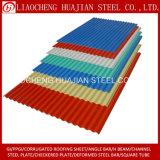 Gewölbtes galvanisierte Stahlblech für Roofling Verbrauch