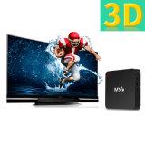 Mx9メディアプレイヤー4K TVボックスを流す人間の特徴をもつTVボックスS905Xクォードのコアアンドロイド6.0 OS 1GB RAM+8 GB ROM
