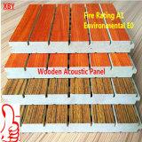 Panneau acoustique de bois Panneau mural Panneau de plafond du panneau de décoration