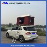 옥외 야영 Offroad 차 단단한 최고 지붕 천막