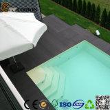 중국 (TS-04A)에서 재상할 수 있는 반대로 UV WPC Decking 지면