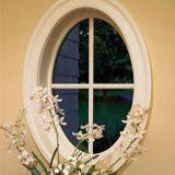 Декоративные ПВХ раунда окно колесной арки