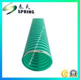 Tipo ondulato aspirazione flessibile del tubo del PVC nuovo ed indurire il tubo flessibile di aspirazione dell'acqua del PVC