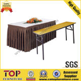 Contraplacado dobrável Top Hotel Banquet Dining Table