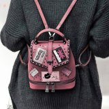 Neue Art-beiläufiger Mädchen PU-Rucksack, Dame-Karton-Handtaschen, Querkarosserien-Schule-Beutel