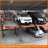 2つのポストの機械手段駐車上昇システム油圧車のスタッカー