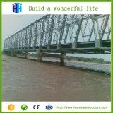 Fournisseur portatif de pont en structure de bâti en acier de passerelle de Bailey