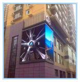 Visor LED de exterior para publicidade