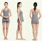 80%COTON 20%spandex ensembles personnalisé de haute qualité yoga Yoga yoga Yoga Shorts Vêtements legging