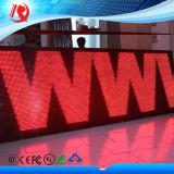 LED-Bildschirmanzeige-Panel-Video, welches Bildschirmanzeige die LED-P10 im Freien spielt