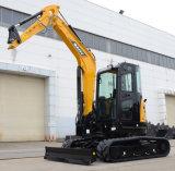 Землечерпалка строительного оборудования Crawler Sany Sy55 RC гидровлическая