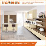新しいデザイン木製PVCラッカー食器棚中国製