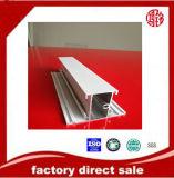 Profil blanc d'enduit de poudre d'extrusion en aluminium pour le matériau de construction
