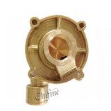 精密投資鋳造真鍮の青銅色ポンプ部品