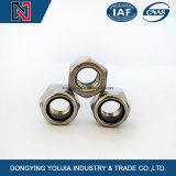 DIN985 Tuercas hexagonales de tipo de par que previenen con inserto no metálico