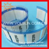 Marcadores de cable de encogimiento térmico impreso permanentes halógenos cero