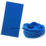 El diseño modificado para requisitos particulares producto del OEM imprimió un Bandana inconsútil teñido color de los deportes al aire libre de Microfiber del poliester