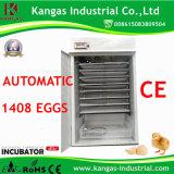 Marquage CE plein pour 1408 Oeufs de poule couveuse automatique