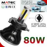 Farol do diodo emissor de luz G20 para o farol lateral do diodo emissor de luz do carro da peça de automóvel 4 12V 24V H4 H7