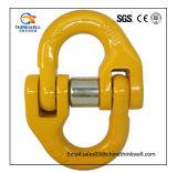 Подложных легированная сталь подъемной цепи G80 соединительной тяги
