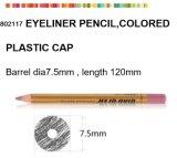 Деревянный косметический карандаш для Eyeliner с цветастой пластичной крышкой