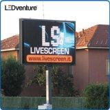 Visualización de la cartelera al aire libre a todo color del LED para hacer publicidad Media Solution