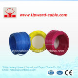 Alambre eléctrico aislado PVC del alambre eléctrico flexible plano del edificio del cobre