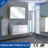 Meuble de lavabo pour salle de bain en PVC à design moderne
