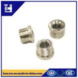 Insérer l'écrou de blocage d'amorçage de moletage pour le zinc en acier