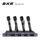 KxD714 4 CHの無線マイクロフォンシステム
