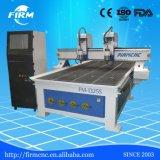 Máquina de grabado de madera del corte del CNC de la Doble-Pista FM-1325